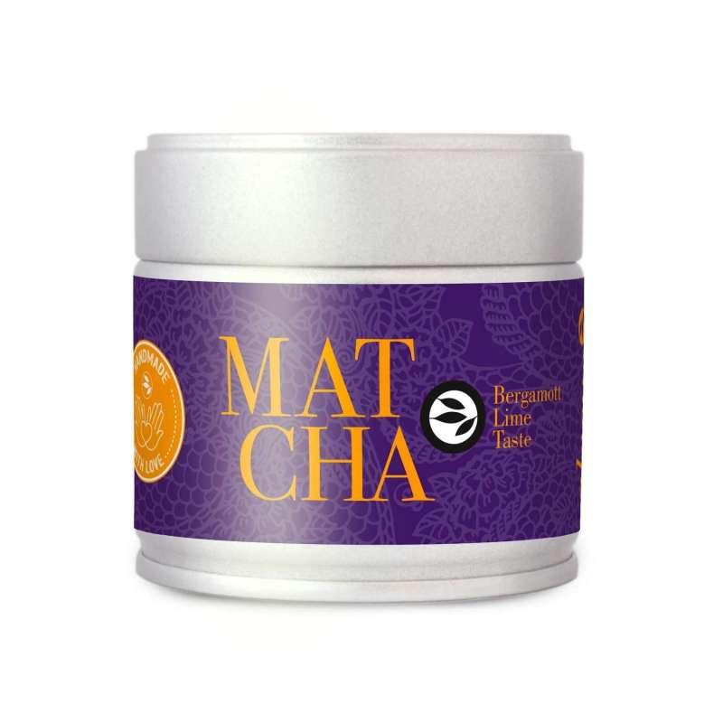 Matcha Bergamote Lemon taste