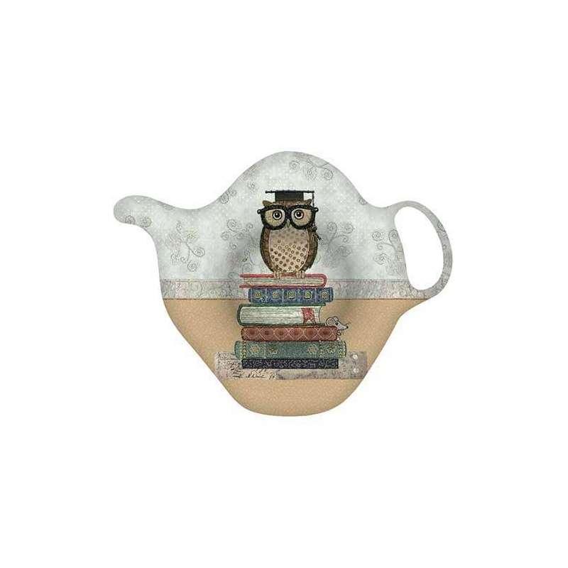 Repose sachet de thé déco Maitre Hibou collection The Amys - Kiub