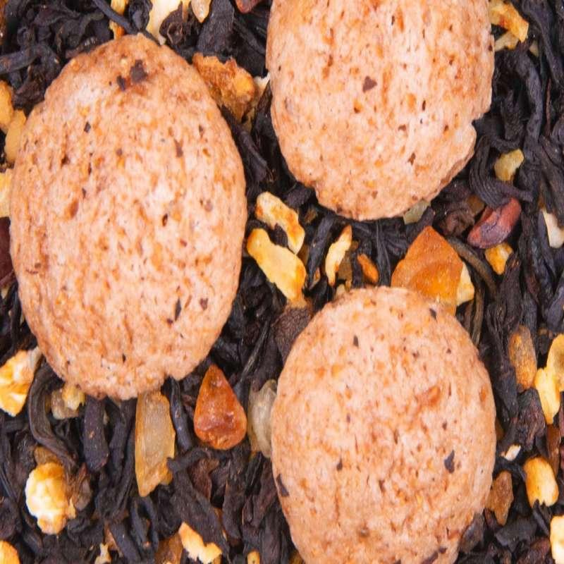 Thé noir gourmand gâteau Cookies Foliz