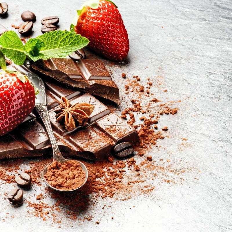 Cacao Bio Seagull Fraise menthe