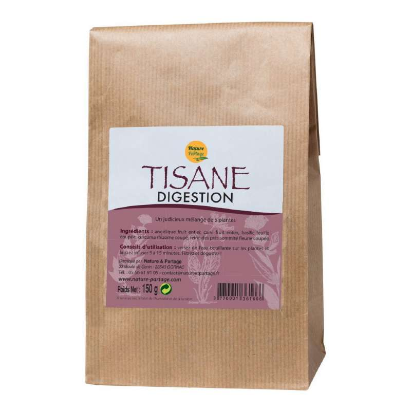 tisane digestion pour apaiser le système digestif
