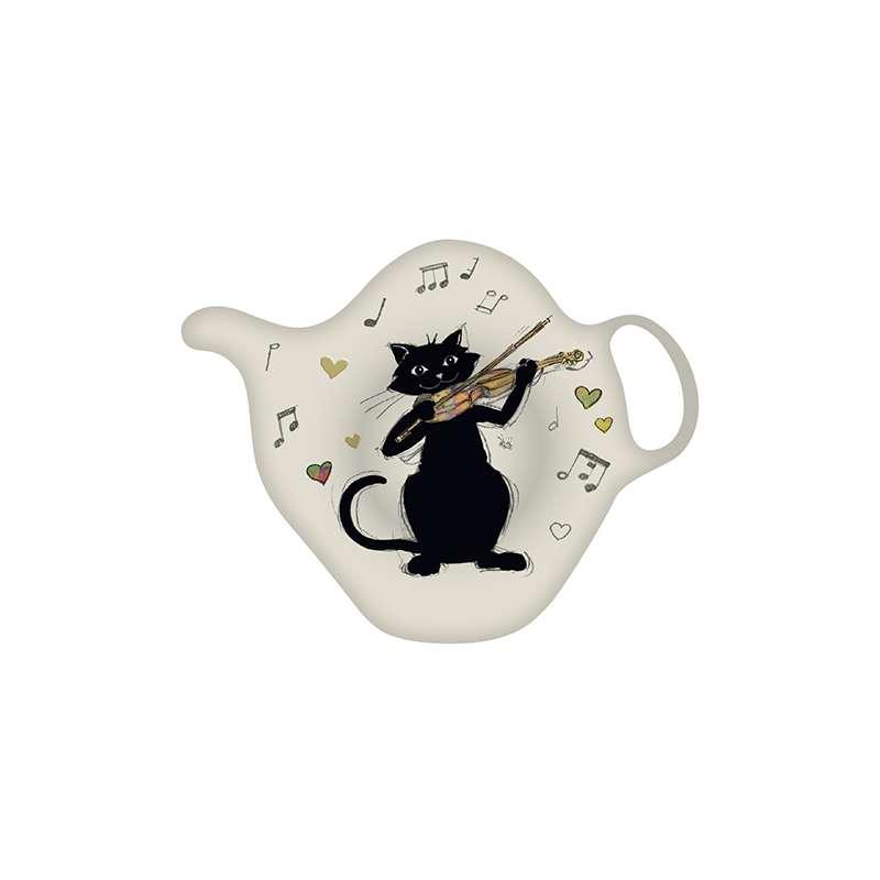Vente de repose sachet thé chat violon en ligne
