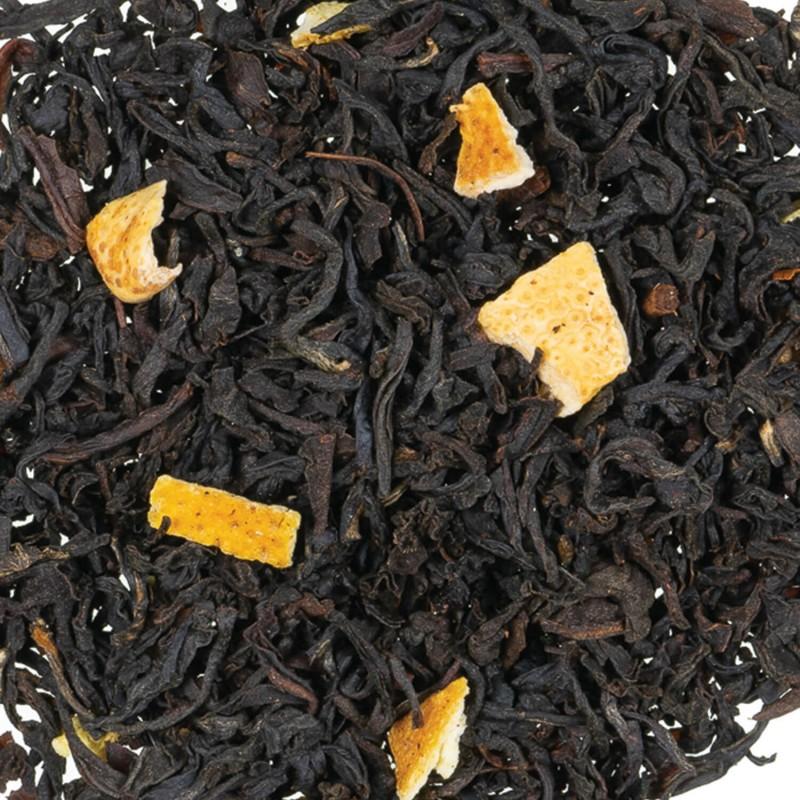 Thé Noir orange agrume
