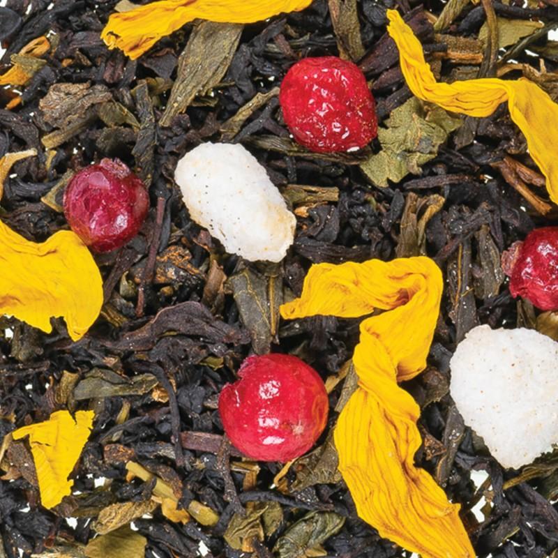 Thé poire - thé noir-poire-pêche-intimithé