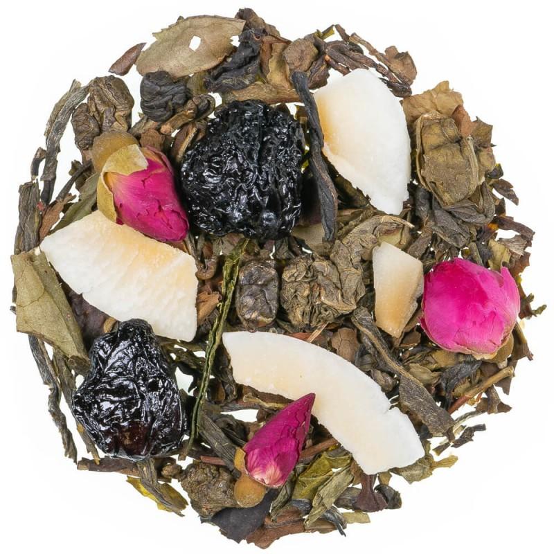 Thé blanc cerise arôme naturel