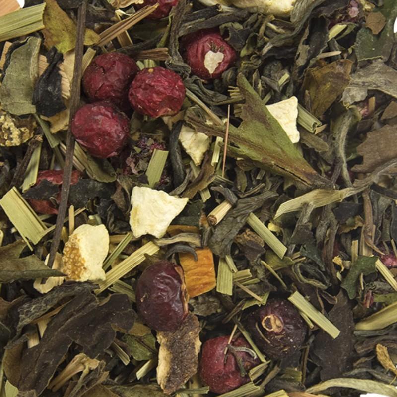 Thé blanc White Ice Tea Saveur pamplemousse-myrtille