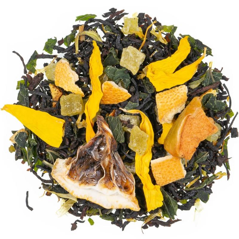 Vente de thé noir en ligne citron vert menthe mojito