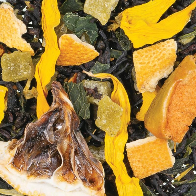 Thé vert mojito - thé vert citron-the vert citron vert-the cocktail-the-apero