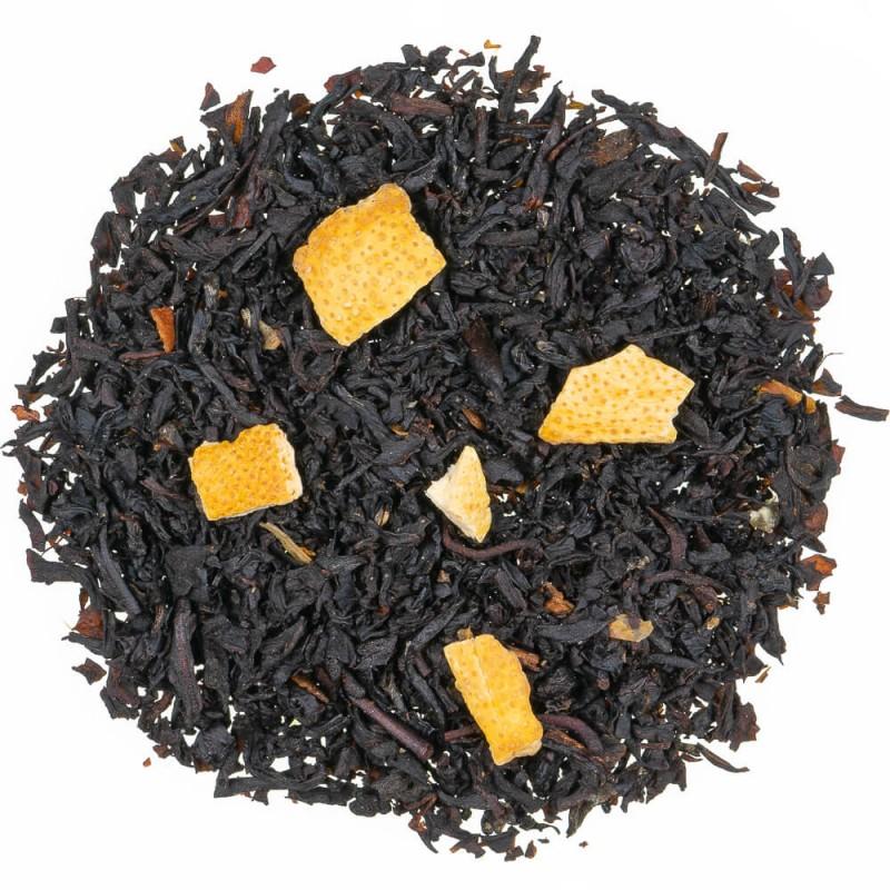 Thé noir citron - thé noir agrume