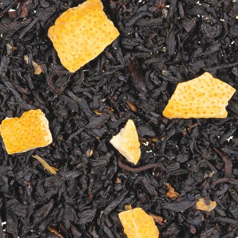 thé noir agrume - thé noir citron