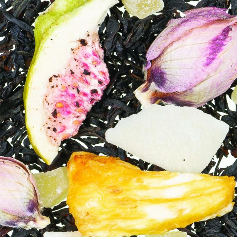 Thé Noir figue noix de coco arôme naturel