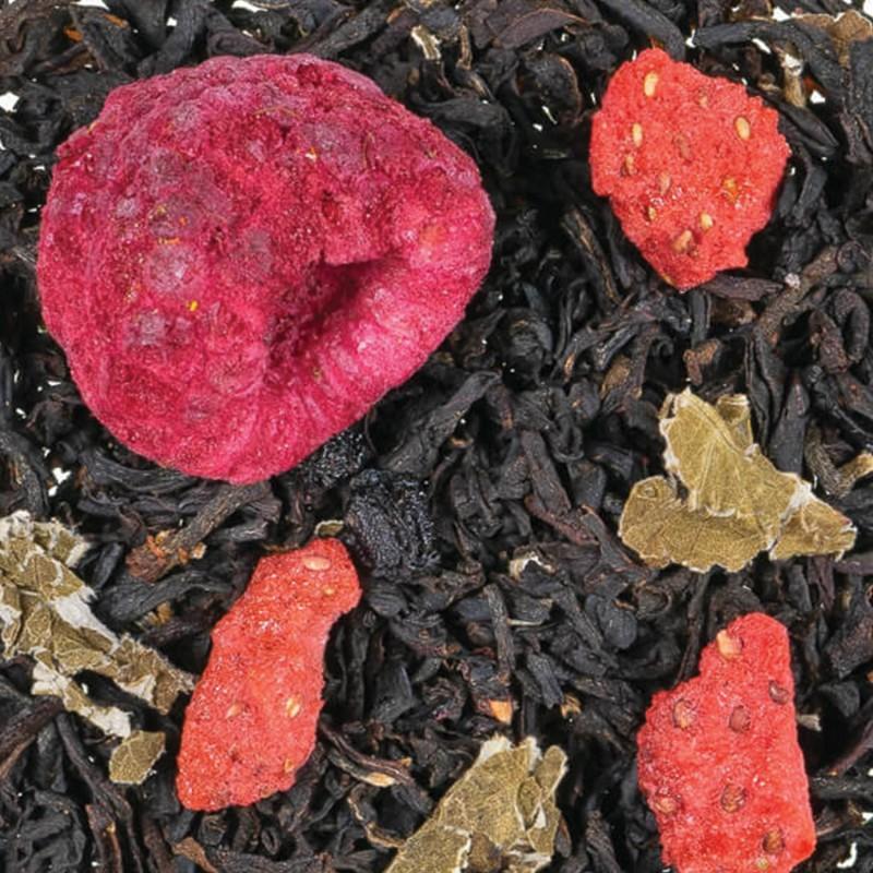 thé noir fruit rouge bienfaits