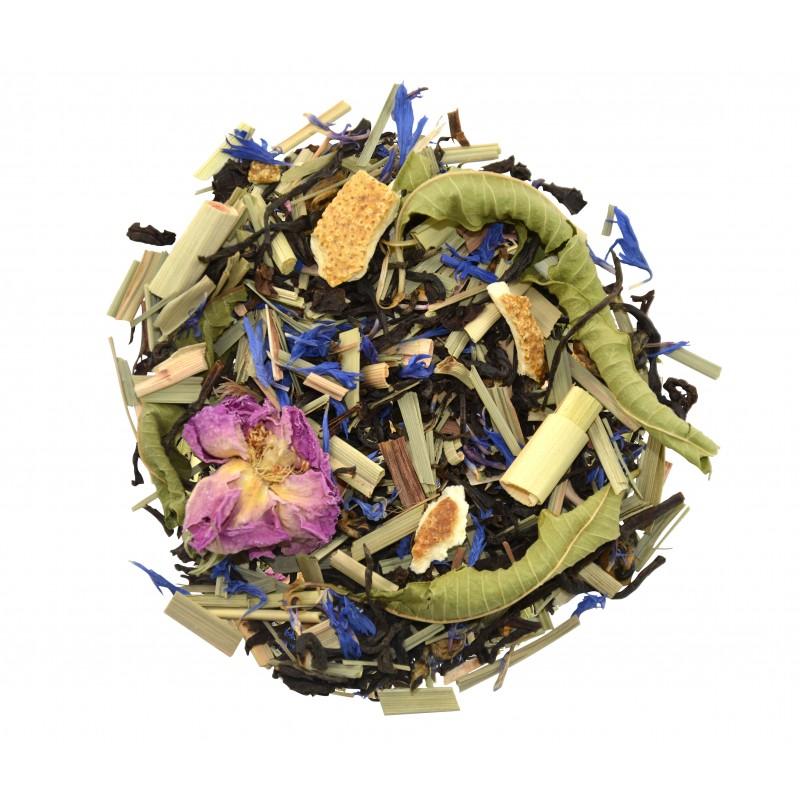 Thé noir Bergamote citron-orange thé noir exotique Bio