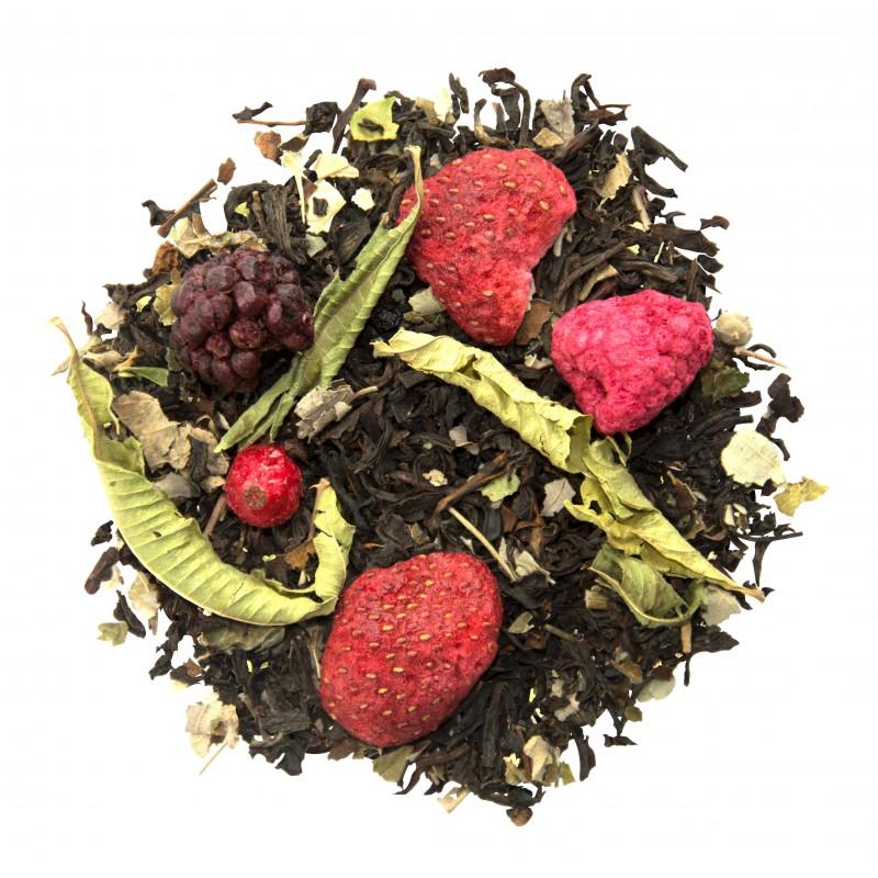Thé aux fruits rouges - les fruits rouges - thé au fruits rouges