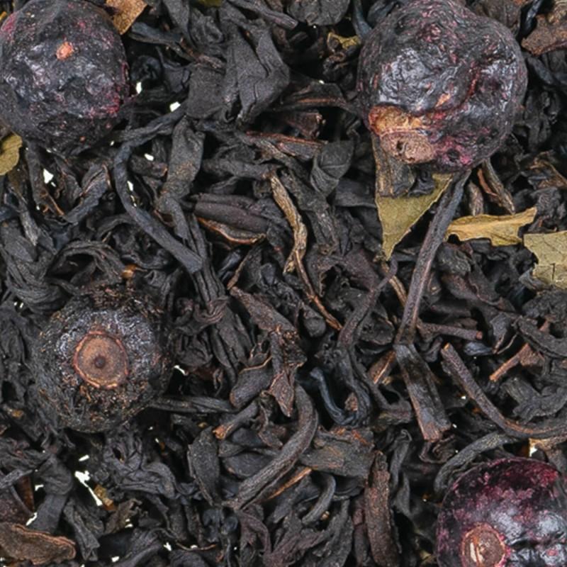 salon de thé cassis - thé noir fruits des bois