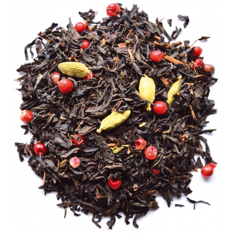 Thé noir pistache