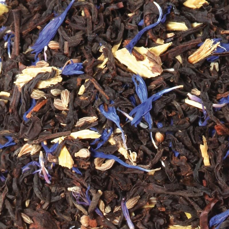 thé au réglisse - thé noir au réglisse