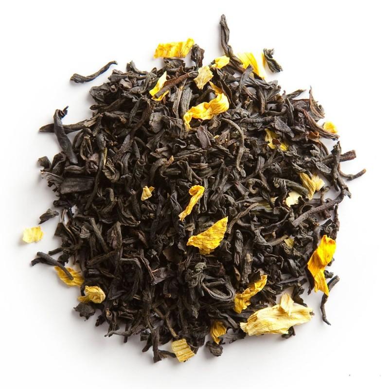 Thé noir mangue-thé noir à la mangue_thé noir exotique_thé exotique