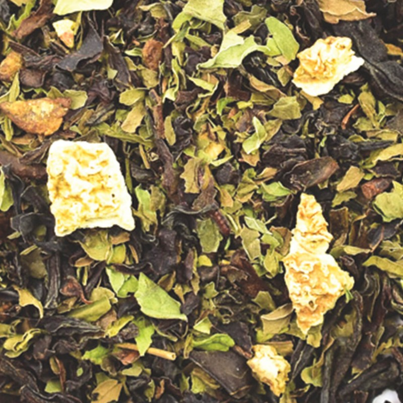 Thé noir menthe_thé noir mangue_ thé noir citron