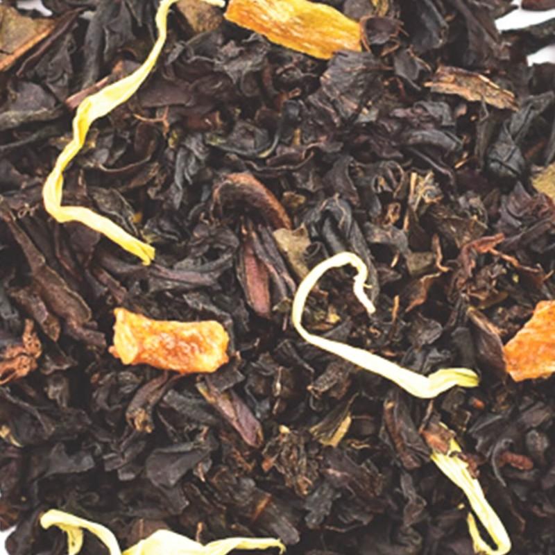 Thé noir abricot _ thé noir mangue_thé mangue_thé abricot