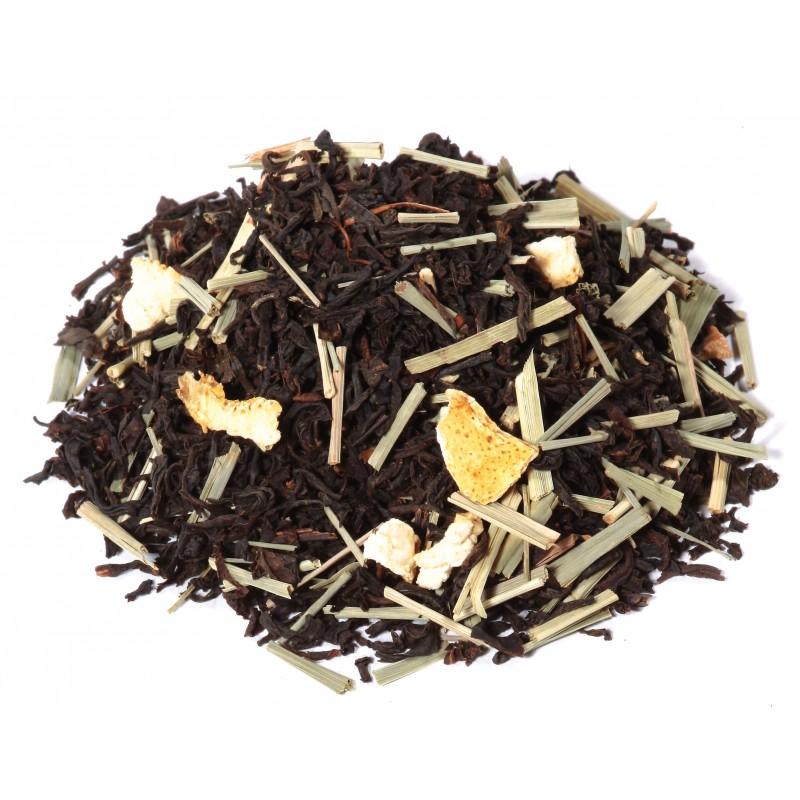 Thé noir mandarine_thé noir clementine_thé noir citron