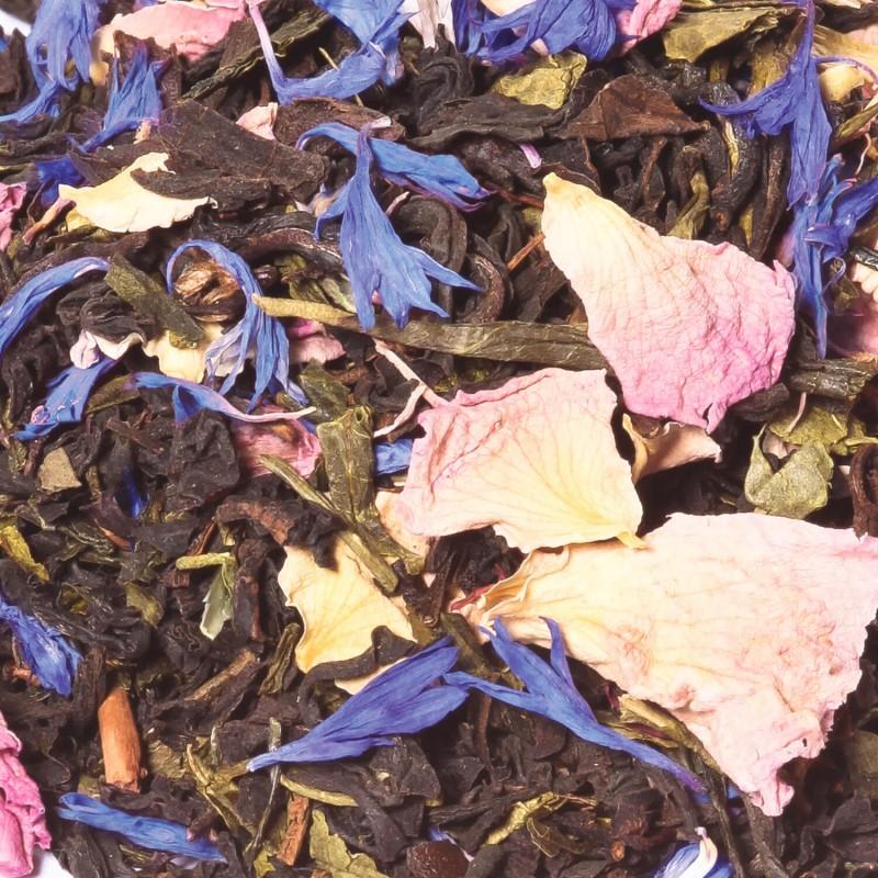 Thé noir rose exotique