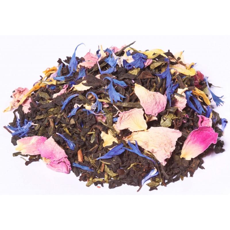 Thé noir rose - fleur- floral - exotique