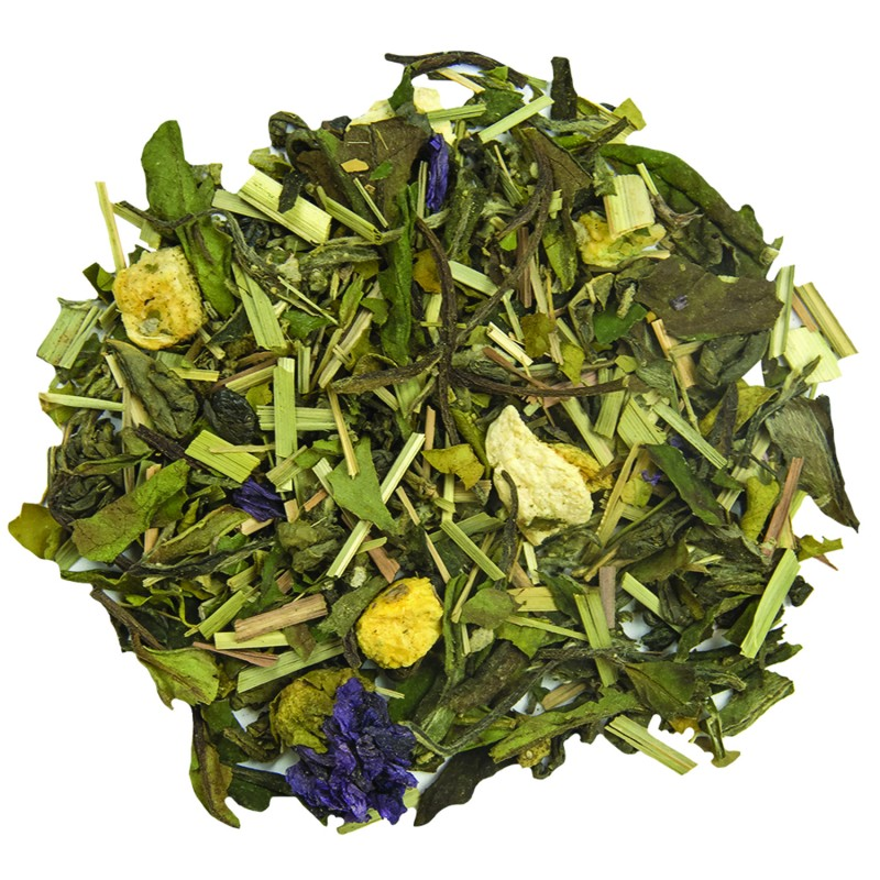 Thé vert abricot-citron detox