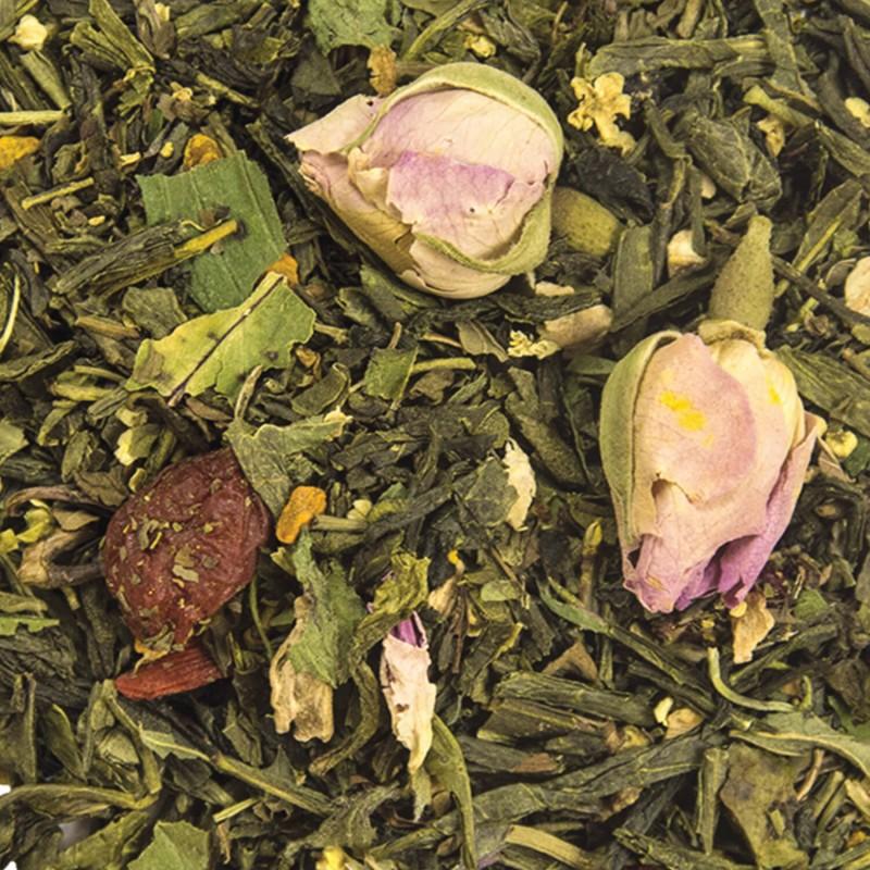 Thé vert menthe exotique