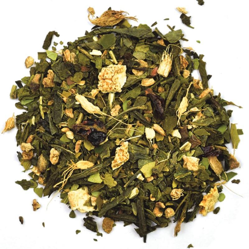Thé vert gingembre_maté vert