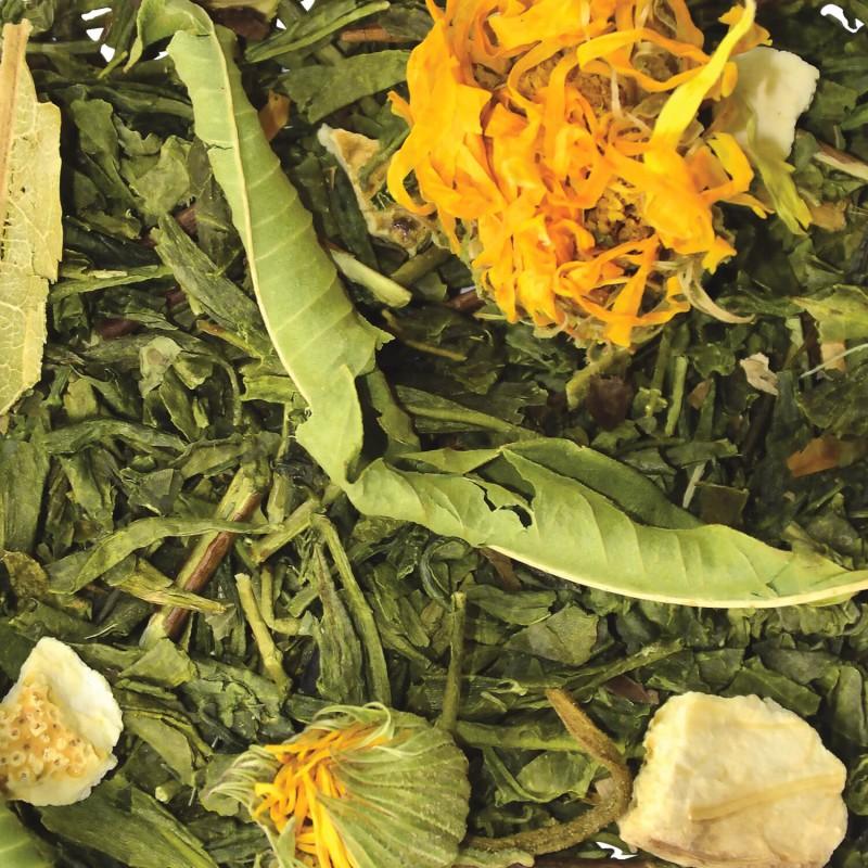 Thé vert Mandarine-Pamplemousse