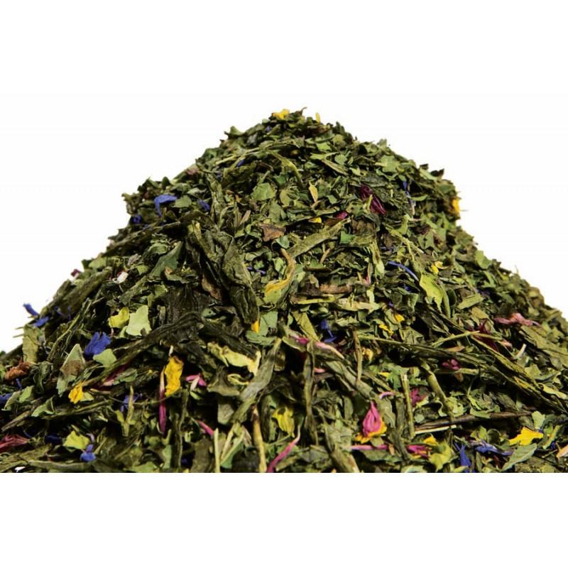 Thé vert menthe moringa