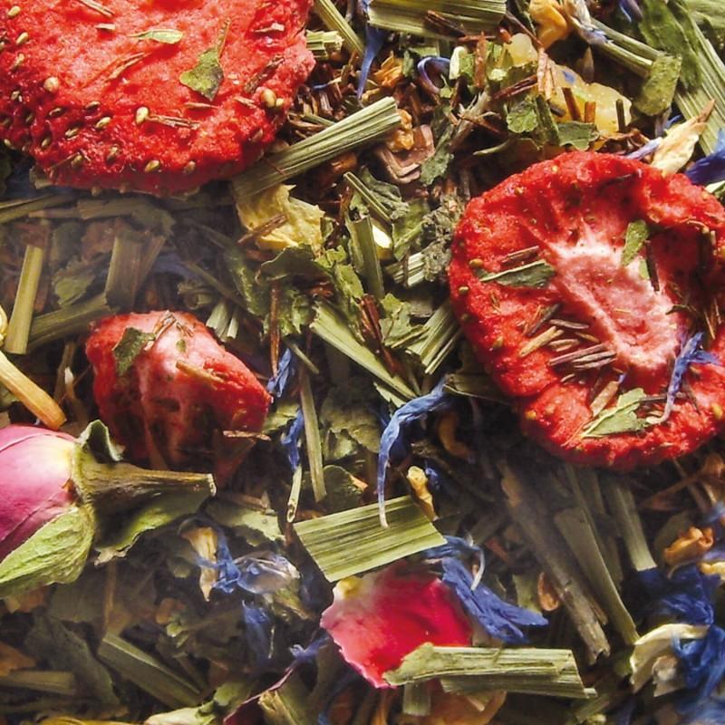 Rooibos Mangue-mandarine - thé sans théine