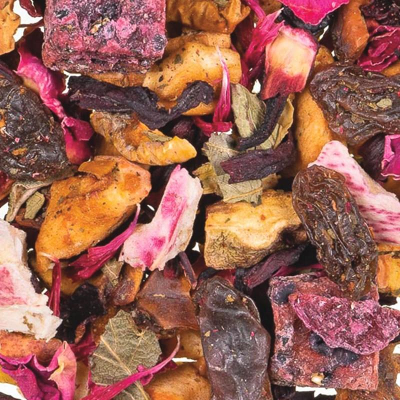Infusion fruitée Fruit du dragon Pitaya-Thé glacé pitaya