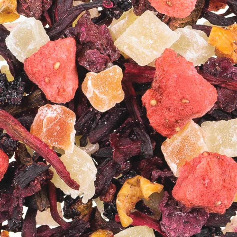 thé glacé-thé froid-thé fruits rouges-thé fraise