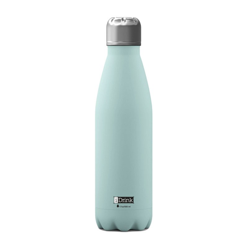 Gourde Thermos Menthe 500 ml acier inoxydable I-Drink