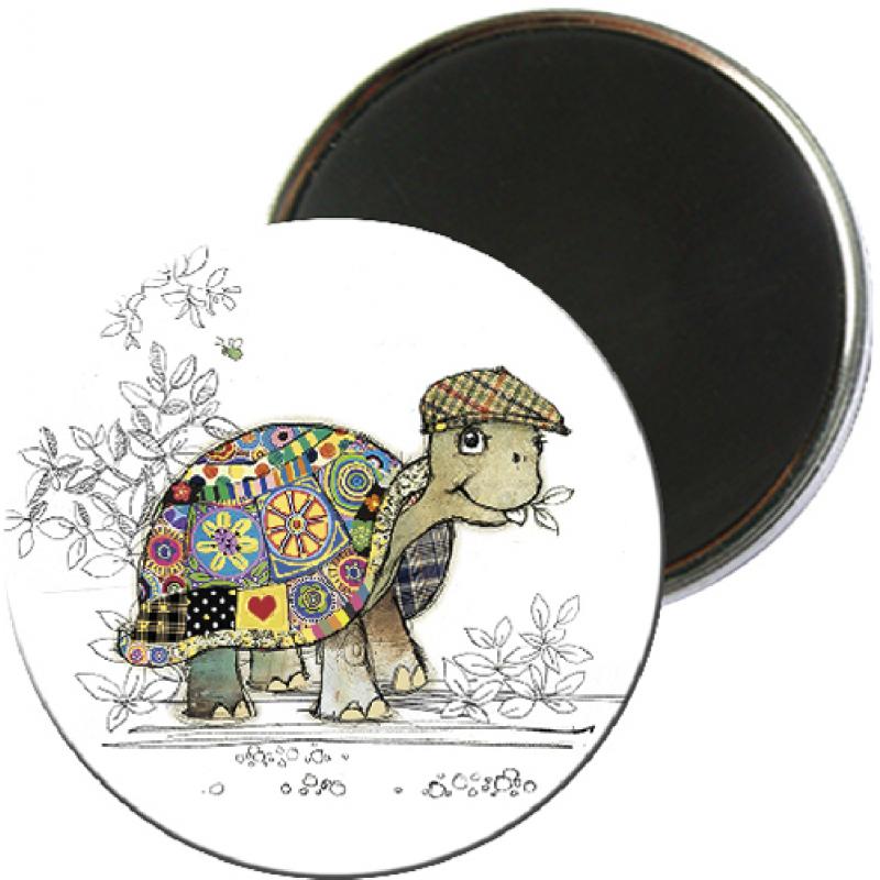 Magnet rond aimanté tortue foliz street-Kiub