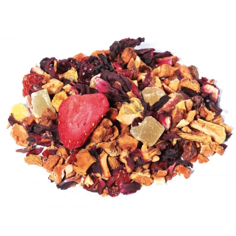 tisane fruits rouges