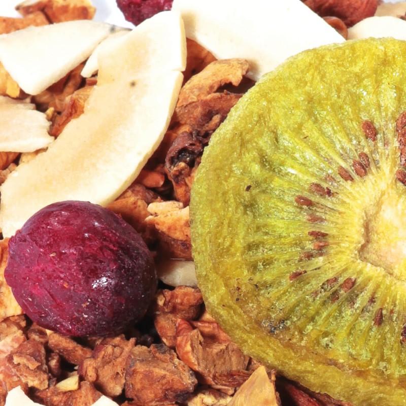 Infusion fruitée Kiwi - Coco - Cerise