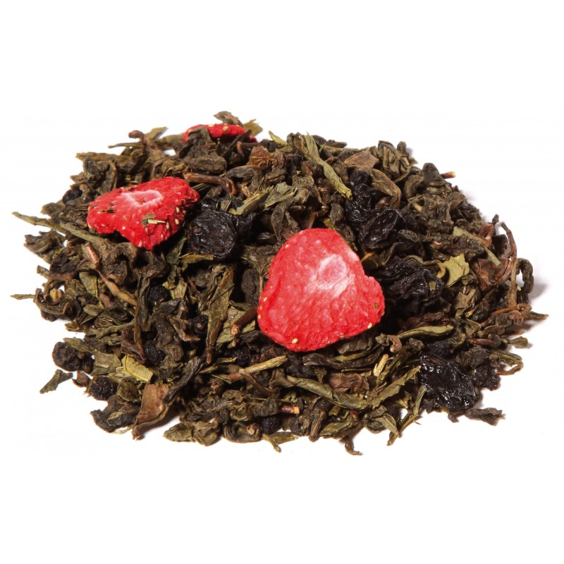 Thé Oolong fruits rouges