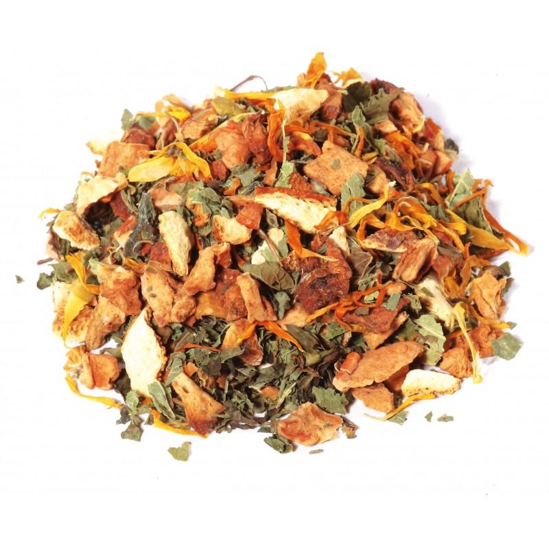 Infusion Orange Mandarine Aux Herbes Pour le Soir