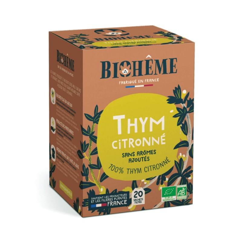 tisane thym citron