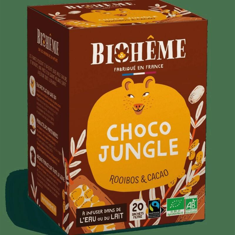 Rooibos chocolat vanille - thé au chocolat