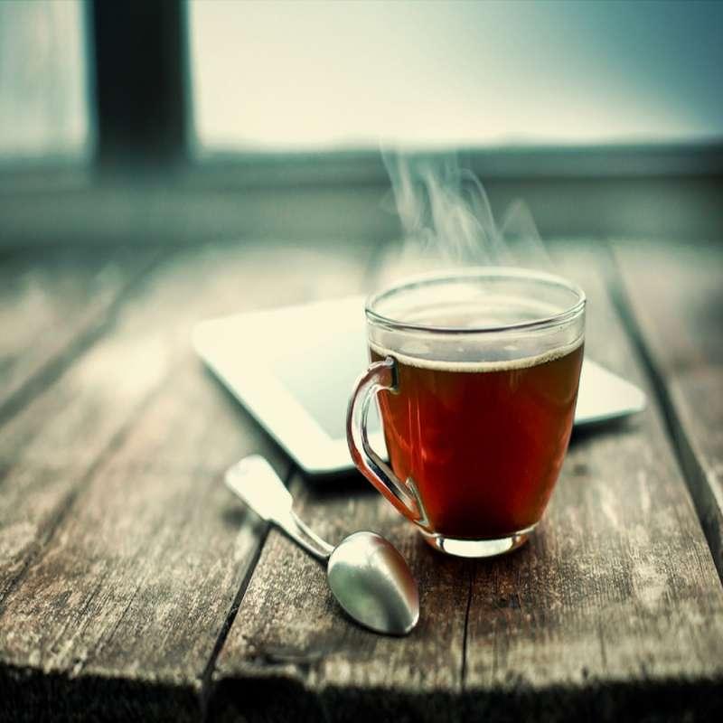 Infusion amaretto cerises douceur thé