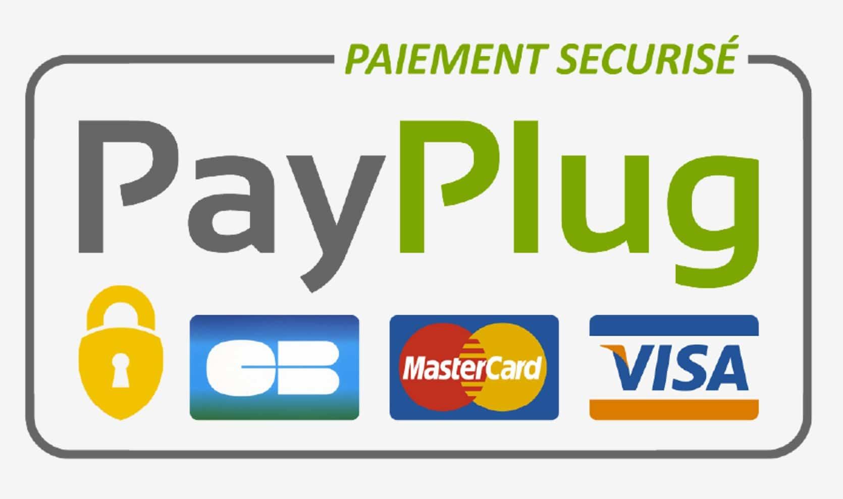Paiement sécurisé carte bleue Payplug