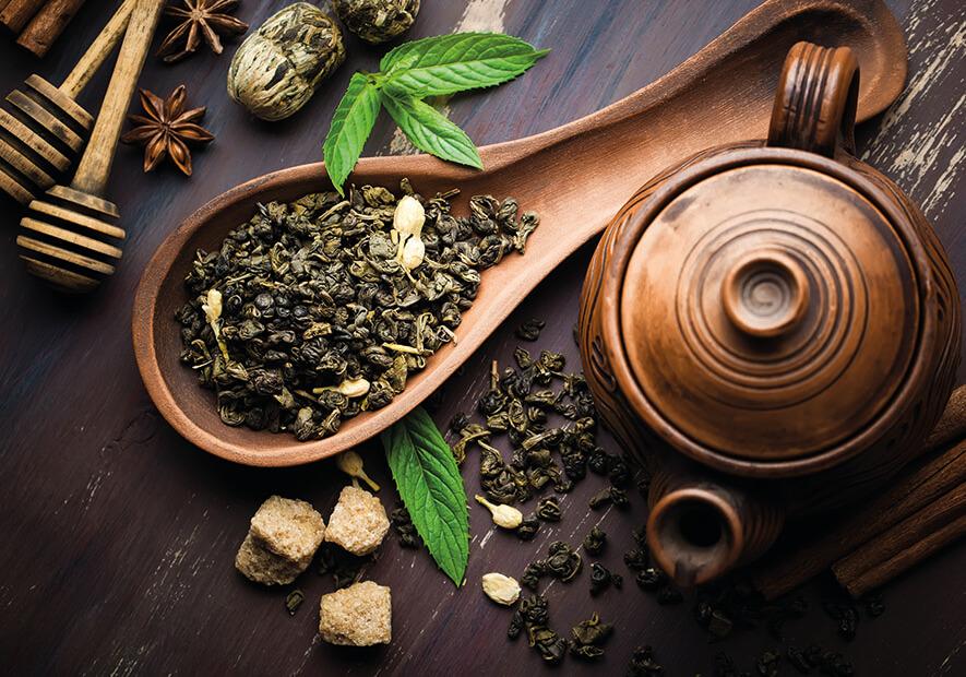 vente de thé en vrac bio